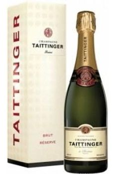 Sparkling Wines: Taittinger Brut Réserve Champagne NV - available mid November - place your order now