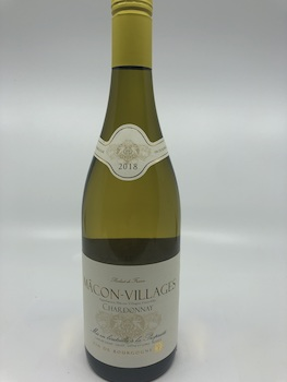 Chardonnay - New Zealand-France-Australia-USA: Cave de Lugny Macon Villages - Chardonnay 2018